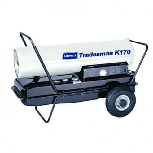 LB White Tradesman K175 Kerosene Forced Air Heater 175,000 BTU