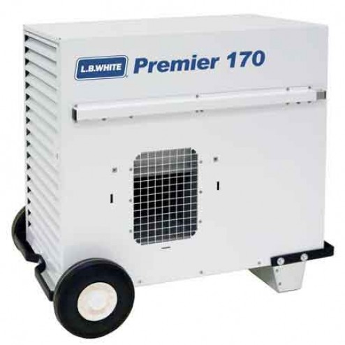 OUT OF STOCK -   LB White Premier 170-DF LP/NG Dual Fuel Tent Heater