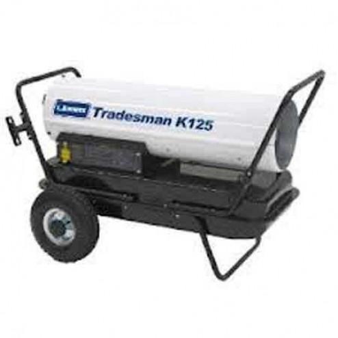 LB White Tradesman K125 Kerosene Forced Air Heater 125,000 BTU
