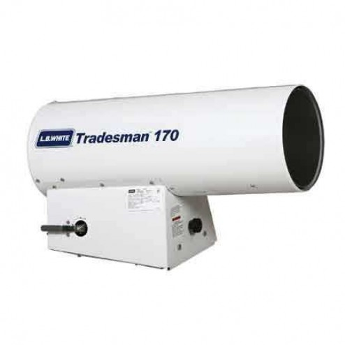 LB White Tradesman 170 Ultra Propane Forced Air Heater 125,000-170,000 BTU