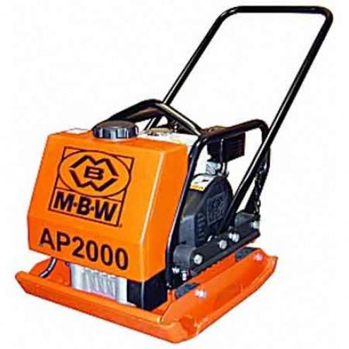 """MBW 20"""" X 22"""" Compaction Plate Asphalt AP2000AH"""