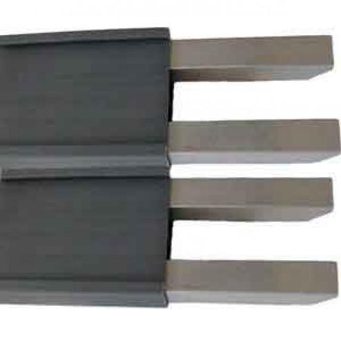 "12"" Poly Plastic Straight Concrete Form 869-650X2"