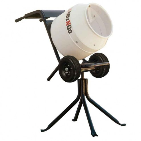 3 cu/ft Mix N Go Concrete Mixer 3/4 HP Electric MC3PEA by Multiquip