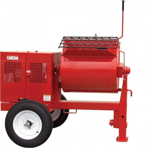 12 cu/ft Mortar Mixer 5 HP Electric WM120SE1D Hydraulic Dump Whiteman