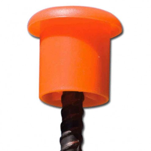 Paragon Products #3 to #8 Rebar Safety Caps 500-PACK