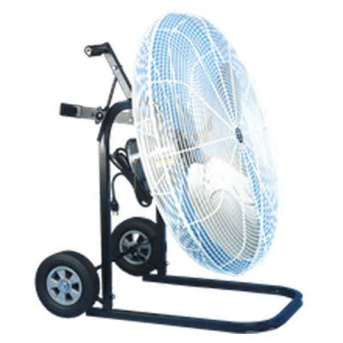 "Schaefer Ventilation 20"" OSHA Cart Fan White 20FC"