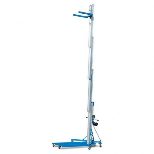 Genie SLA-25 Superlift Advantage 26ft Material Lift w/stabilizer set