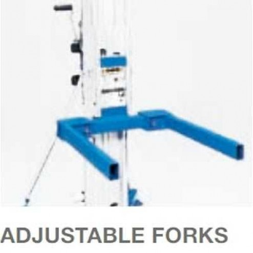 Genie Optional Adjustable forks w/std forks for SLA Lifts