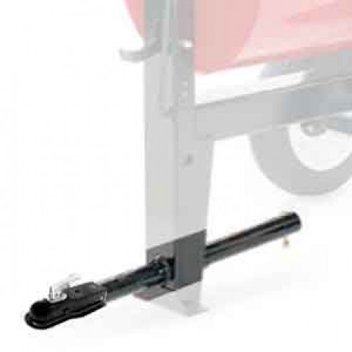 Stone 68131 Tow Pole and Ball Hitch END DUMP Mixers