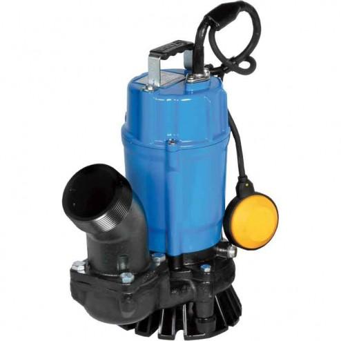 Tsurumi Submersible Trash Pump with Agitator HSZ2.4S-62-110V