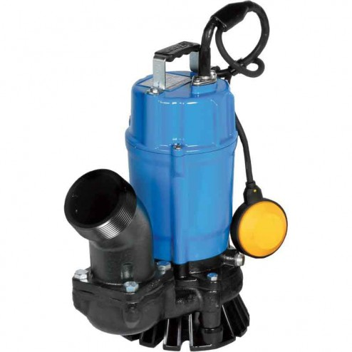 Tsurumi Submersible Trash Pump with Agitator HSZ3.75S-61-115V