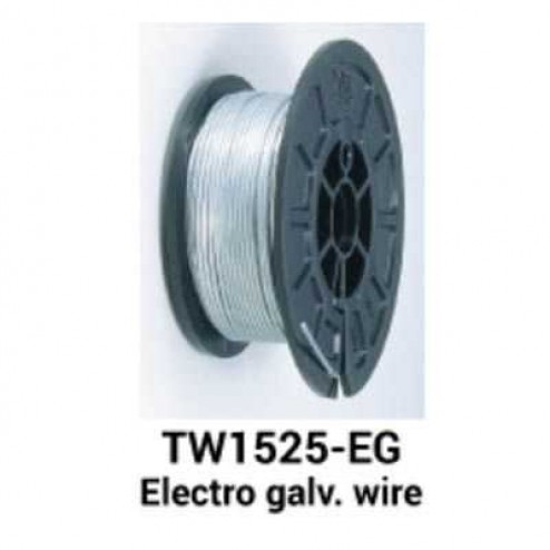 Max USA TW1525EG Electro Galvanized Wire (50 Rolls)