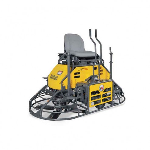 """Wacker 72"""" Gas Non-Overlapping Ride-On Trowel CRT36-26A"""
