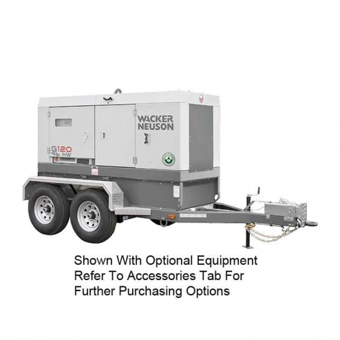 Wacker 96kW Mobile Generator G130 Cold Weather Edition T4F