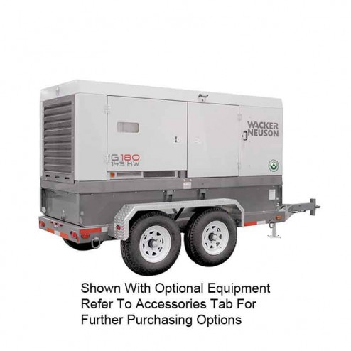 Wacker 143kW Mobile Generator G180 Cold Weather Edition T4F
