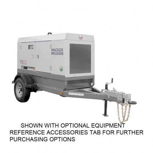 Wacker 58kW Mobile Generator G70 COLD WEATHER EDITION T4F