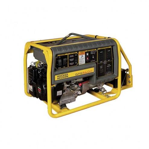 Wacker 5600W Portable Generator With Electric Start GPS5600