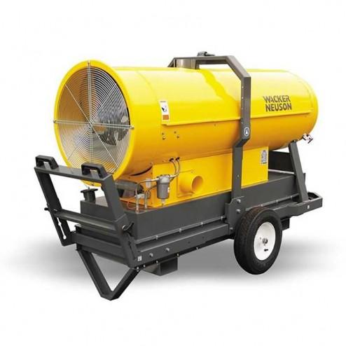"""Wacker HI 400HD Heavy Duty Diesel Indirect Heater 1"""" x 20"""" w/ Accessory Kit"""