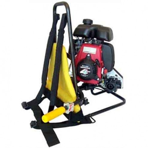 OZTEC BP-50A 4-Stroke Gas Backpack Concrete Vibrator
