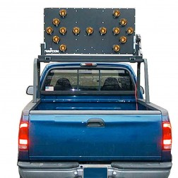 Trafcon Industries MB4-25 Vehicle Mount Arrow Board (PAR 36 LED Lamps)