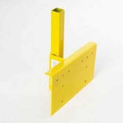 Acro Building Systems Vertical Guardrail Bracket Only 12045B
