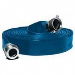 "50ft Long 6"" Water Discharge Hose by Abbott Rubber"