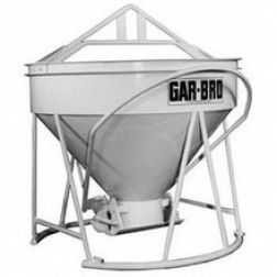 1/2 Yard Steel Concrete Bucket 413-R by Garbro