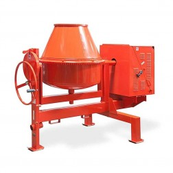 MK Diamond Canoga 300-S Stationary End Dump Concrete Mixer 163823-S