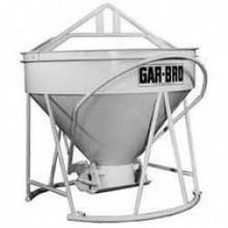 1 Yard Steel Concrete Bucket 427-R by Gar-Bro
