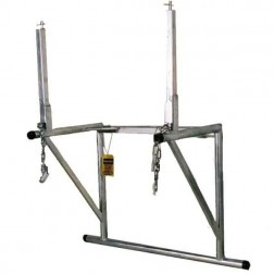 Chutes International Durachute Basic Support Frame w/Hopper Stands 0310