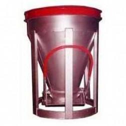 1 Yard Low Slump Aluminum Concrete Bucket BB-10-LS