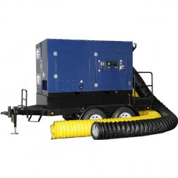 Frost Fighter IHS700GT Ice Fighter Indirect Fired High Static Oil Heater (Self-Contained Trailer/Generator)