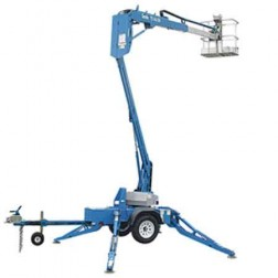 Genie TZ-34 DC Trailer Mounted Boom Lift