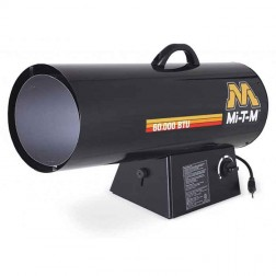 Mi-T-M 60,000 BTUs Forced Air Propane(LP) Variable Heater MH-0060-LM10