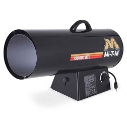 Mi-T-M 150,000 BTUs Forced Air Propane(LP) Variable Heater MH-0150-LM10