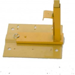 Acro Building Systems Flat Roof Guard Rail System Bracket & Post 12061