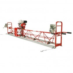 42.5Ft Air Powered Steel Truss Vibratory Screed Allen-SSA12425
