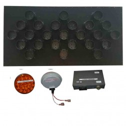 Trafcon Sign Panel and Controller Retrofit Package w/15 LED Lamps