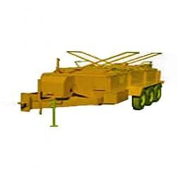 ASE 1250Gal 9HP Standard Lid Asphalt Kettle Pumper