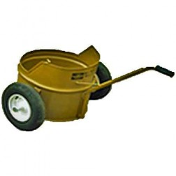 ASE 20Gal Mop Carrier with Flat-Free Wheels