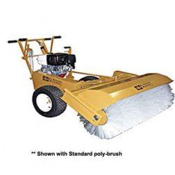 ASE MS-40 9HP Mechanical Sweeper Poly Steel