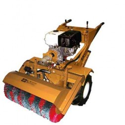 ASE 13HP Hydraulic Tractor Electric Start with Poly Coil Sweeper