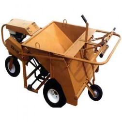 ASE 5.5HP Large Swivel Wheel Mechanical Power Buggy