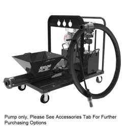 Black-Jack Hydraulic Single Cylinder Grout Pump W/ 8 Cubic Ft. Hopper