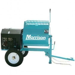 Bartell 8 Cu/Ft 2HP Electric Mortar Mixer MM8SE200