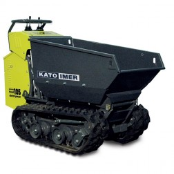 IMER Carry 105-E Electric Track Transporter w/Tipping Bucket 5222210001HD
