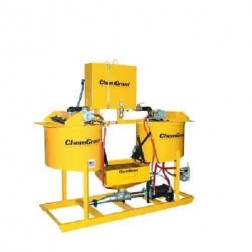 ChemGrout CG-500-031/A Geotech Air Hi-Capacity Grouter w/2- Mixers