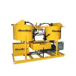 ChemGrout CG-500-031/EHT Geotech 3ph Electric/Hyd Hi-Capacity Grouter w/2- Mixers