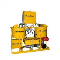 ChemGrout CG-500-031/DHES Geotech Diesel/Hyd Hi-Capacity Grouter w/2- Mixers