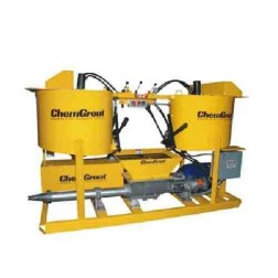 ChemGrout CG-500-2C6/EHT Versatile 3Ph-Electric /Hydraulic Grouter w/2- Mixers